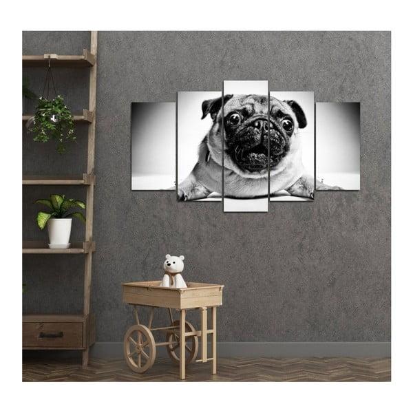 Vícedílný obraz 3D Art Doggie, 102x60cm