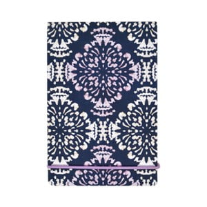 Agendă de buzunar cu margine aurie Monsoon Gretta by Portico Designs, 176 file