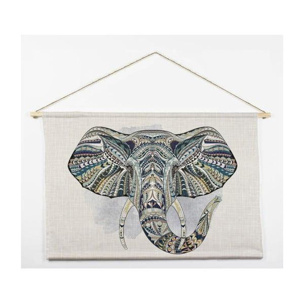 Nástěnná dekorace Tapiz Elephant