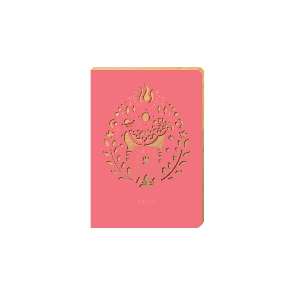Linkovaný zápisník Portico Designs Beran, 124 stránek