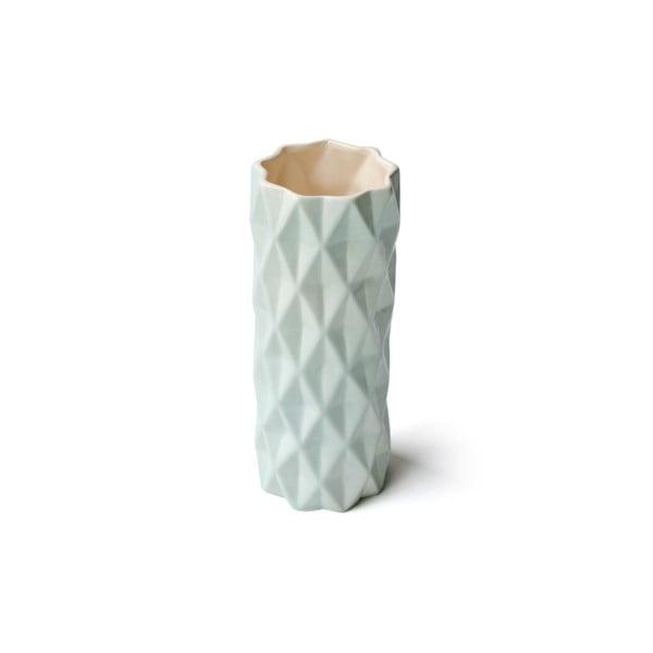 Mentolová váza Hawke&Thorn,výška19cm