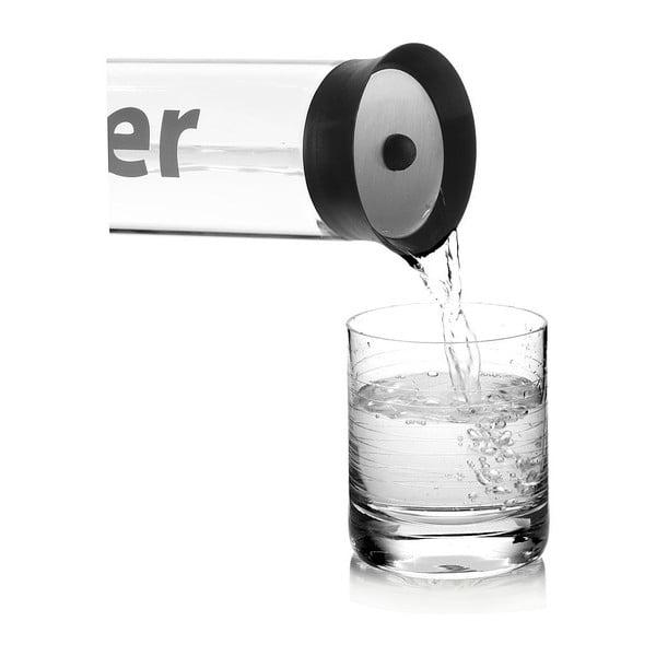 Karafa na vodu s nylonovým návlekem, černá