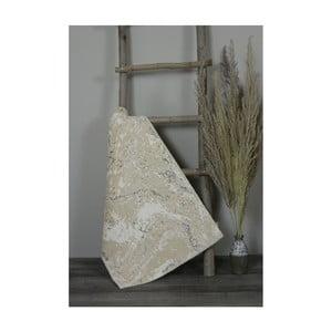 Krémová bavlněná koupelnová předložka My Home Plus Sensation, 60 x 90 cm