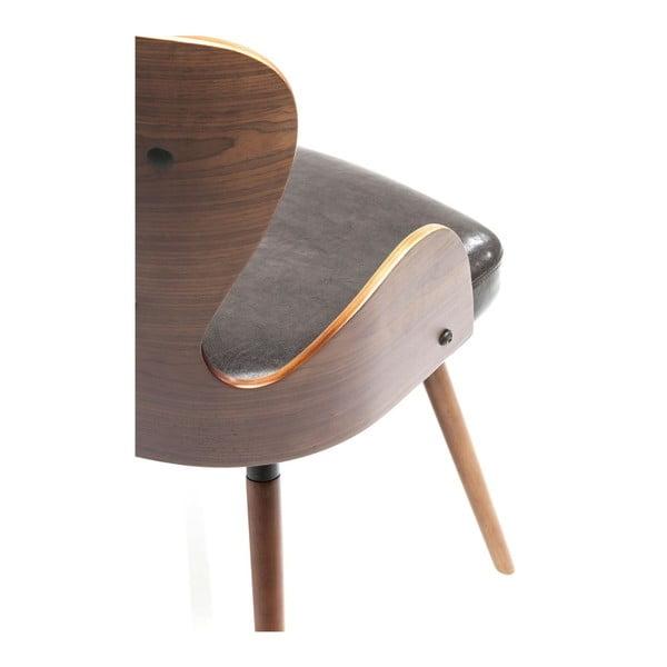 Hnědá jídelní židle Kare Design EastSide