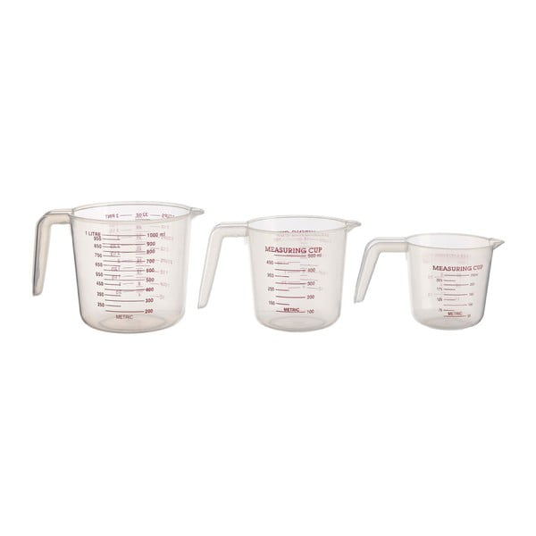 3 db-os konyhai mérőedény készlet - Premier Housewares