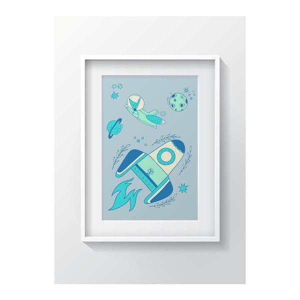 Nástenný obraz OYO Kids Rocket, 240 x 290 cm