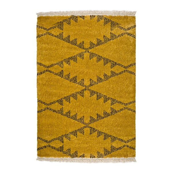 Žlutý koberec Universal Zaida Mostaza, 160x230cm