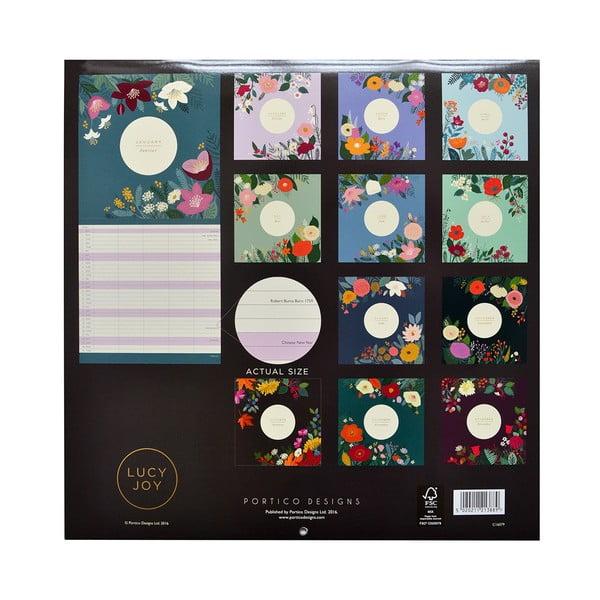Rodinný kalendář Portico Designs Lucy Joy