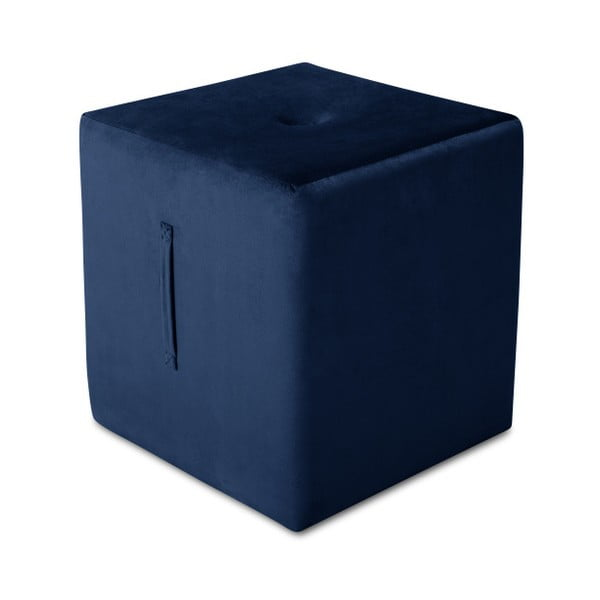 Modrý puf Mazzini Sofas Margaret, 40 × 45 cm