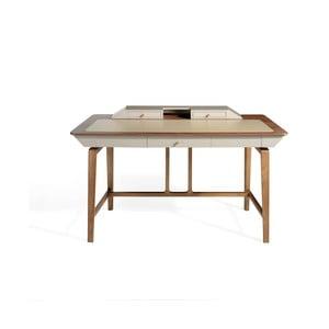 Pracovní stůl z jasanového dřeva Ángel Cerdá Cora