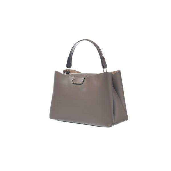Kožená kabelka Miss Town Taupe