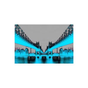 Obraz Night Vision Blue, 41 x 61 cm