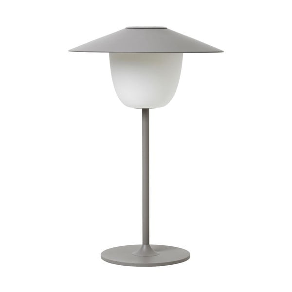 Sivá LED lampa Blomus Ani Lamp