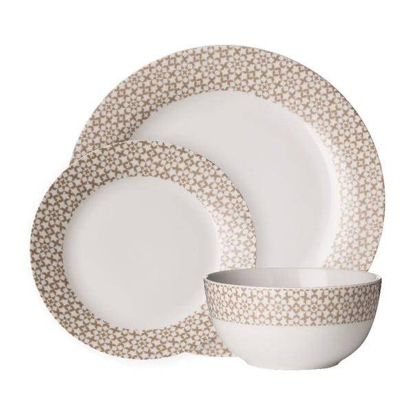Zestaw naczyń z porcelany Premier Housewares Casablanca, 12 szt.