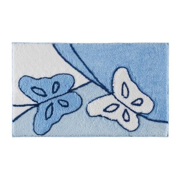 Koupelnová předložka Paselis Blue, 60x100 cm
