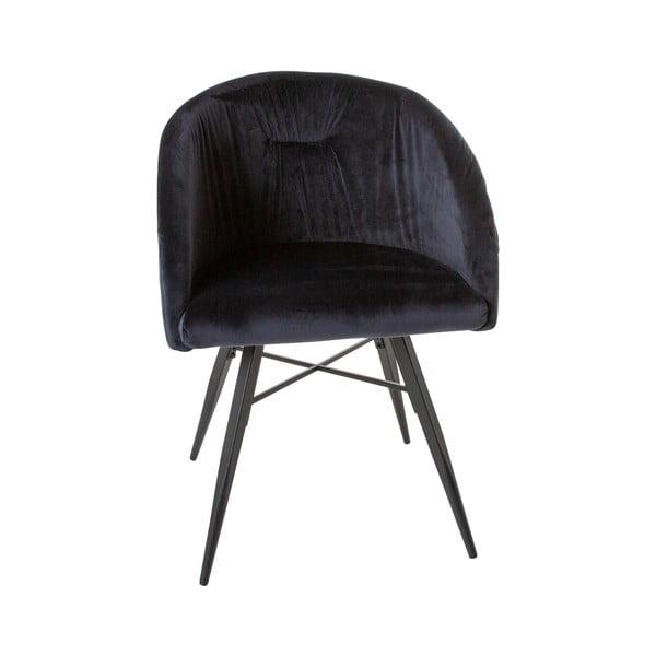 Tmavě modrá židle Canett Mingo
