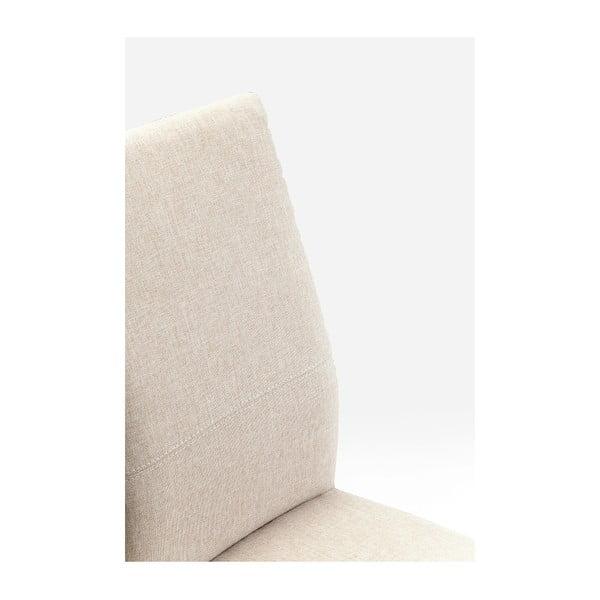 Sada 2 krémově bílých jídelních židlí s nožičkami z dubového dřeva Kare Design Mara