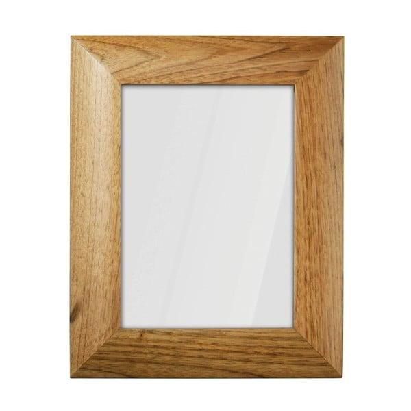 Dřevěný rámeček na fotky, světle hnědý