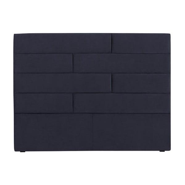 Tmavě modré čelo postele Cosmopolitan Design New York, šířka 200cm