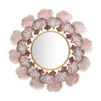 Oglindă de perete Mauro Ferretti Leaves, ø 94 cm imagine