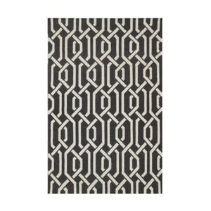 Vlněný koberec Bakero Camila Dark Grey, 60x90cm