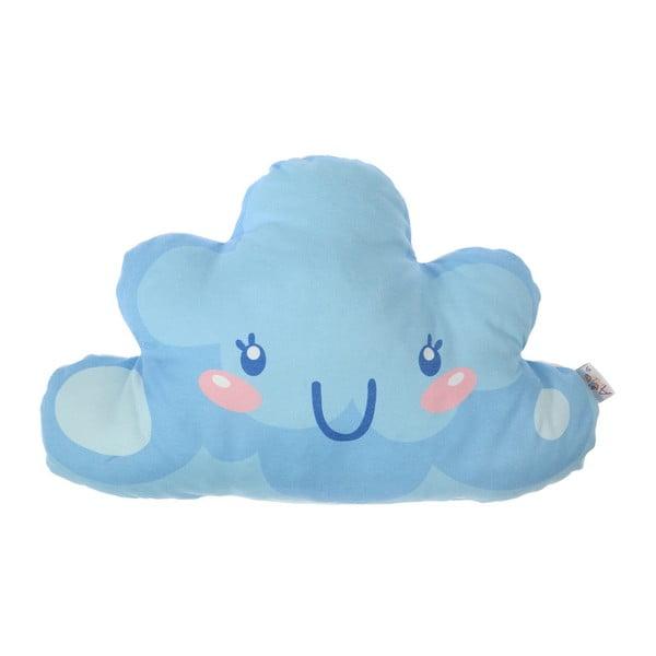 Pernă din amestec de bumbac pentru copii Apolena Pillow Toy Hurro, 21 x 40 cm, albastru