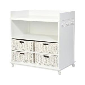 Pult Baskets White, 96x60x95 cm