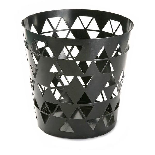 Odpadkový koš Black Polygon
