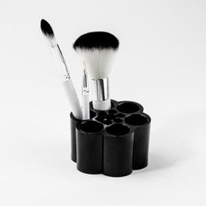 Suport pensule make up Compactor, negru