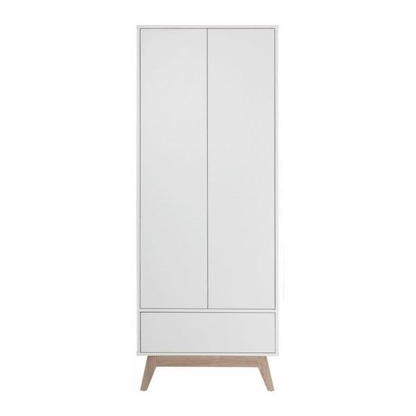 Leon fehér kétajtós ruhásszekrény - Støraa
