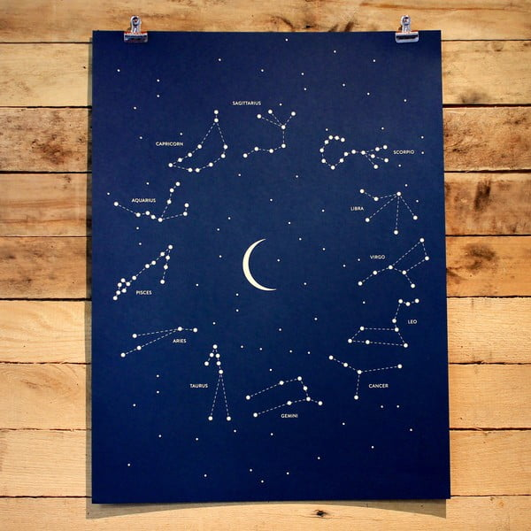 Plakát Constellations 61x46 cm