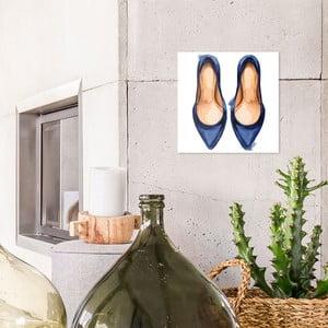Skleněný obraz OrangeWallz Heels, 30 x 30 cm