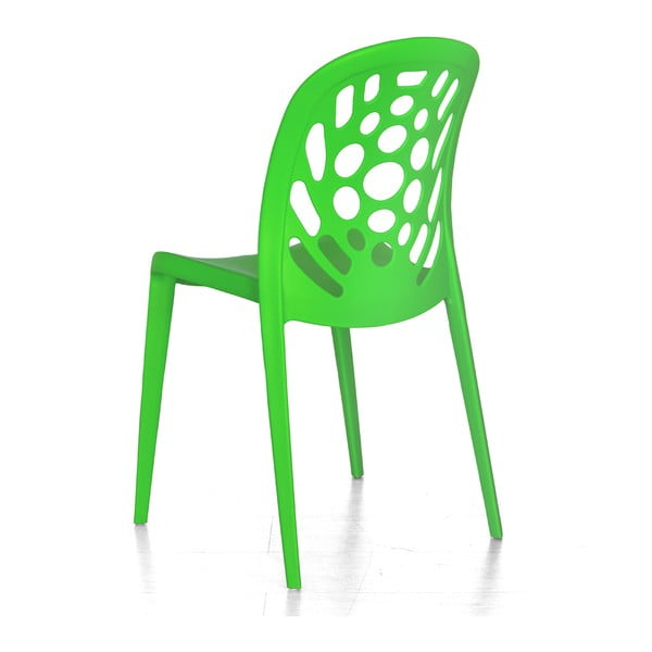 Židle Allegra, zelená