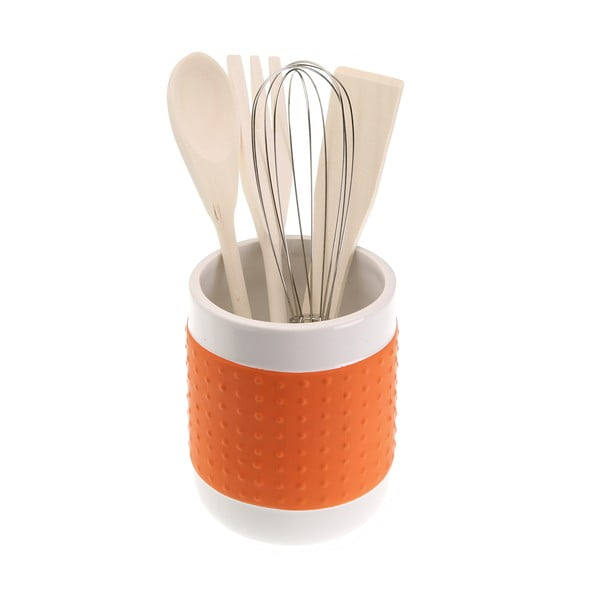 Con Orange 4 darab konyhai eszköz, állvánnyal - Versa
