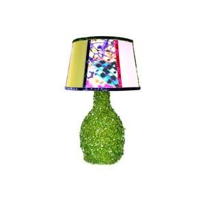 Stolní lampa Crystal Green