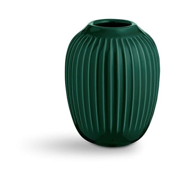 Vază din ceramică Kähler Design Hammershoi,înălțime 10 cm, verde