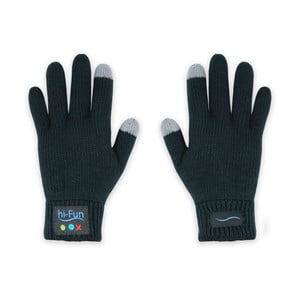 Hi-Call Headset v dámských rukavicích, černá