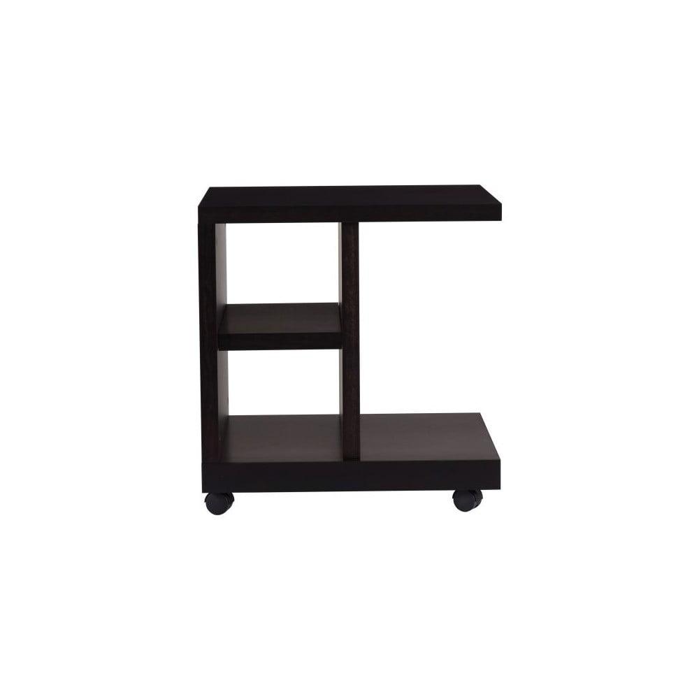 Černý noční stolek TemaHome Float