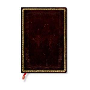 Zápisník s měkkou vazbou Paperblanks Moroccan, 13x18cm