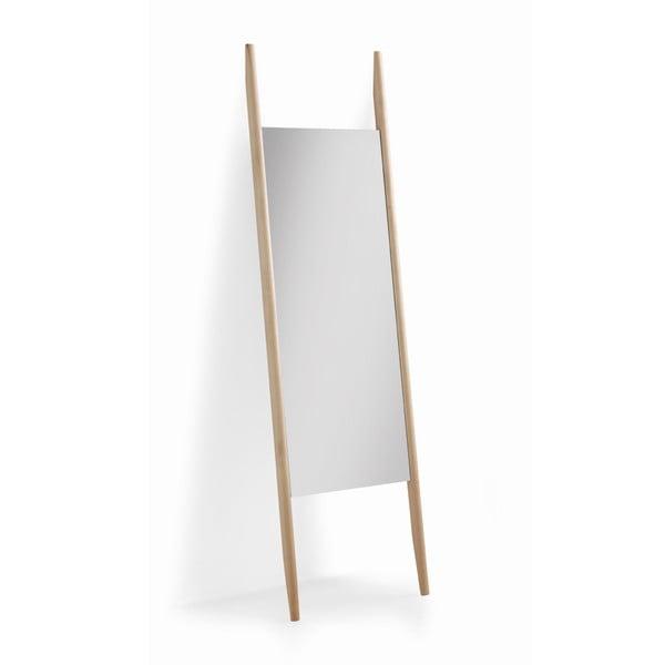 Opěrné zrcadlo z březového dřeva Geese Pure