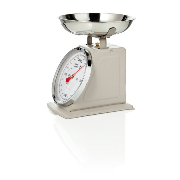 Šedá kuchyňská váha Brandani Scale