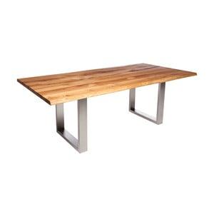 Stůl z dubového dřeva Fornestas Fargo Alister, délka 160cm