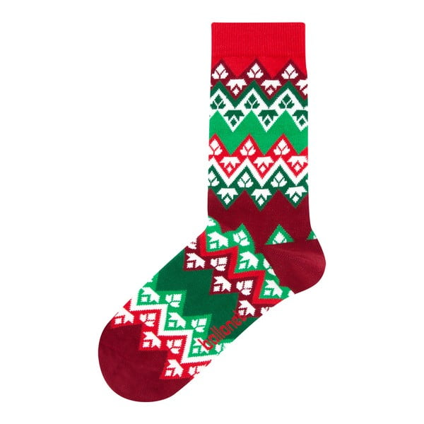 Skarpetki w opakowaniu podarunkowym Ballonet Socks Season's Greetings Socks Card with Flake, rozmiar 41 - 46