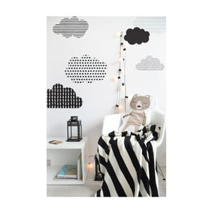 Autocolant pentru perete Dekornik Scandi clouds