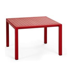 Červený zahradní odkládací stolek Nardi Garden Aria, 60x60cm