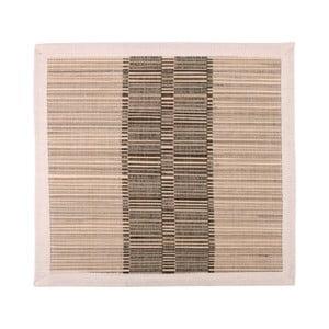 Suport din paie și bumbac Ladelle Akita, 35 x 35 cm, maro