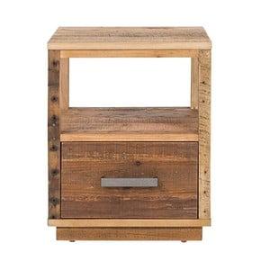 Noční stolek z  borovicového dřeva Woodking Canterburry
