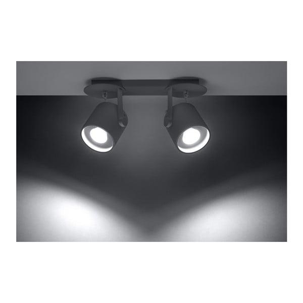 Šedé stropní svítidlo Nice Lamps Lea 2