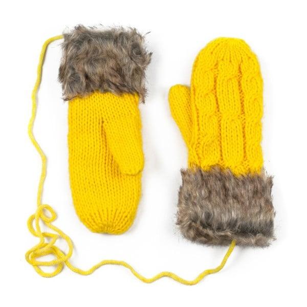Žluté rukavice Dolores