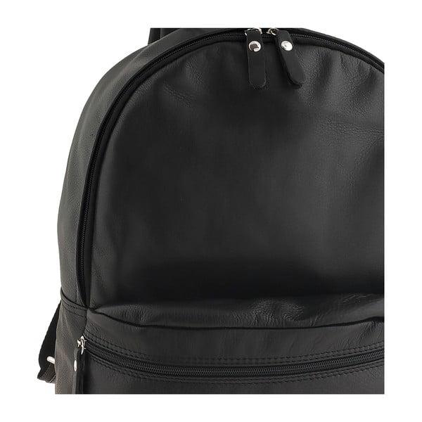 Černý kožený batoh Ore Diece Rovigo